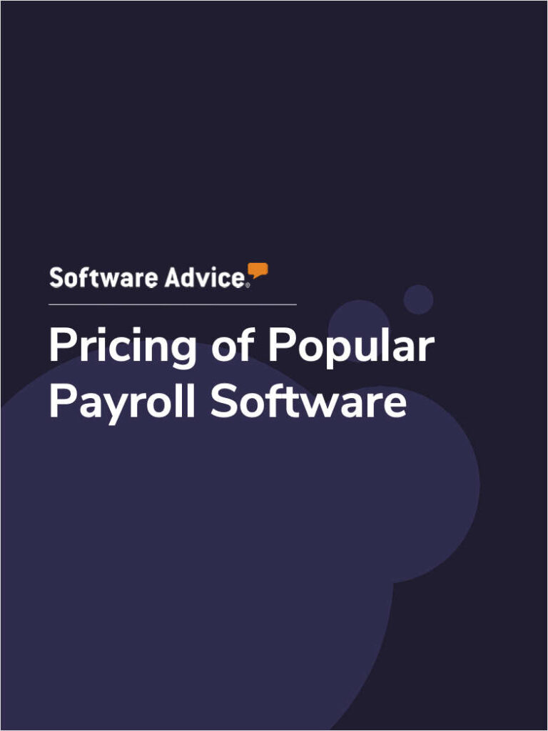 Pricing of Popular Payroll Software